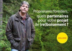 Brochure Propriétaires forestiers, quels partenaires pour votre projet de (re)boisement