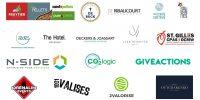 entreprises ayant contribué à la plantation d'arbres en 2019